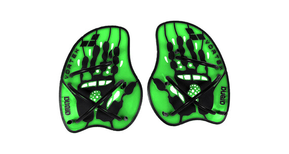 arena Vortex Evolution Hand Paddle acid lime/black